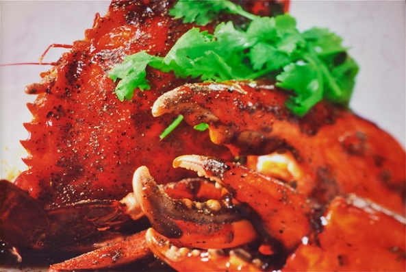 Crispy Chilli Crab @Chinatown