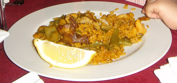 And yes, Paella!