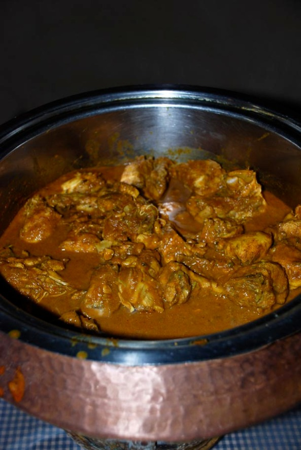 Slightly Spicy Chicken Curry