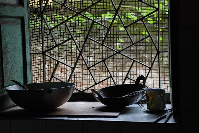 Traditional Bengali Kitchen