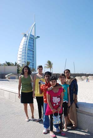 Dubai Photo-shoot in-front of Burj-Al-Arab