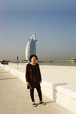 No Dubai Photo-shoot is incomplete without one shot in-front of Burj-Al-Arab. Mind you, we'll be coming back again to the same spot for a night shot!