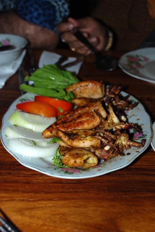 Naghar Mashwi/Grilled Squid