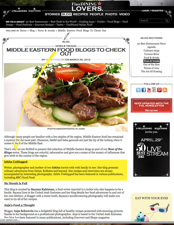 Middle eastern food blogs to check out in fine dining lovers be social share this forumfinder Choice Image