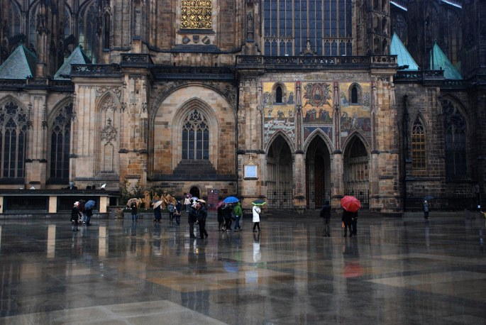 A rainy day in Prague