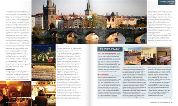 Prague in BBC GoodFood ME, December 2013