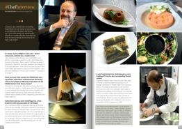 Chef Interview: Greg Malouf, February 2015