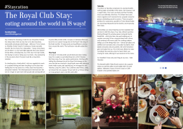 Staycation: The Royal Club, October 2015
