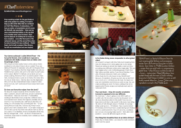 Chef Interview: Vikas Khanna, June 2015