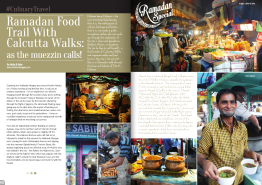 Culinary Travel: Ramadan Walk with Calcutta Walks