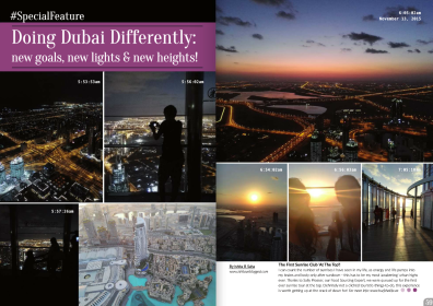 Doing Dubai Differently, January 2016