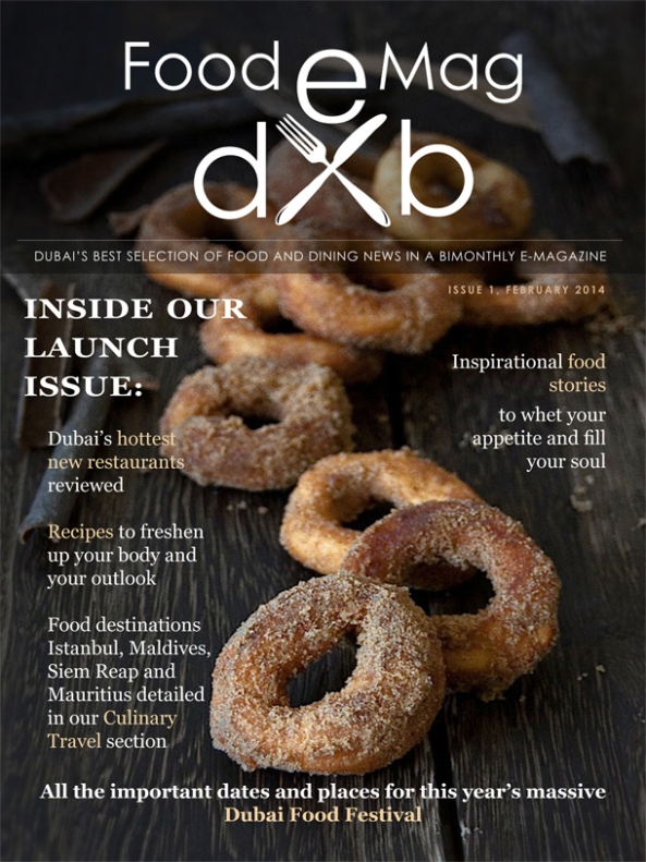 FoodeMag dxb - Cover of the Launch Issue
