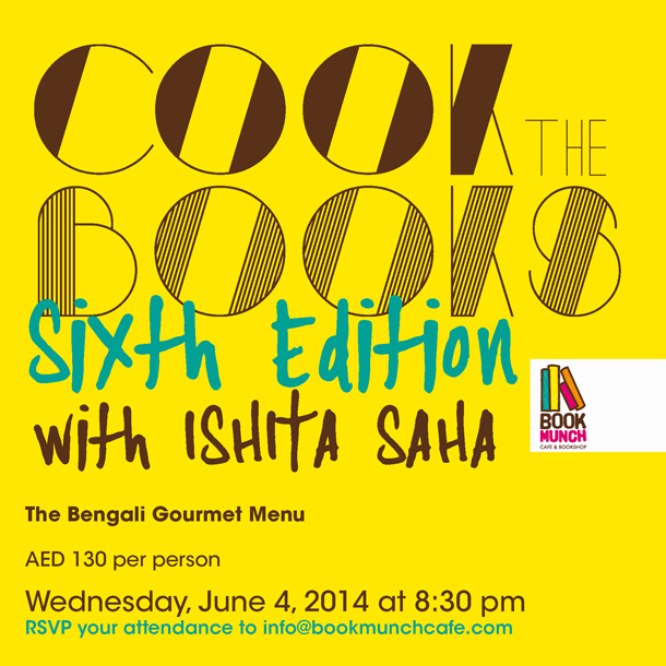 Cook The Books with Ishita Saha