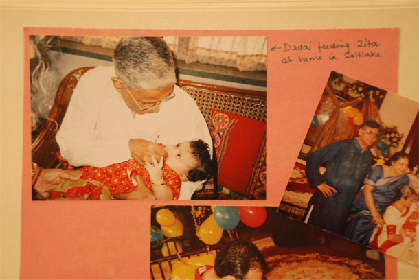 Annaprashan or the Rice Feeding ceremony when Big Z was 3 months old