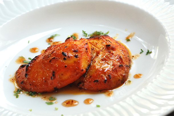 Tandoori Mango with spiced honey