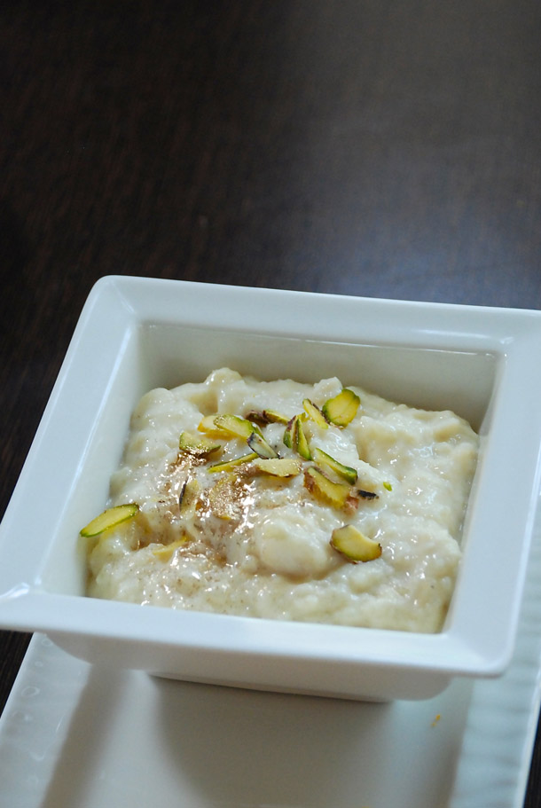Rice Kheer or Payesh