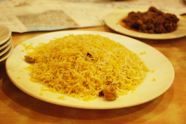 Mutton Biryani, Royal Indian Hotel