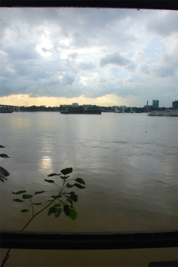 View of the Ganges from Scoop