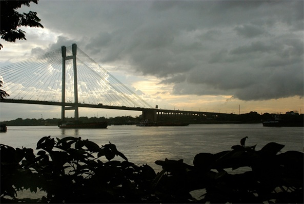 2nd Hoogly Bridge from Princep Ghat