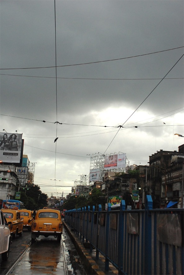 Kolkata in rains