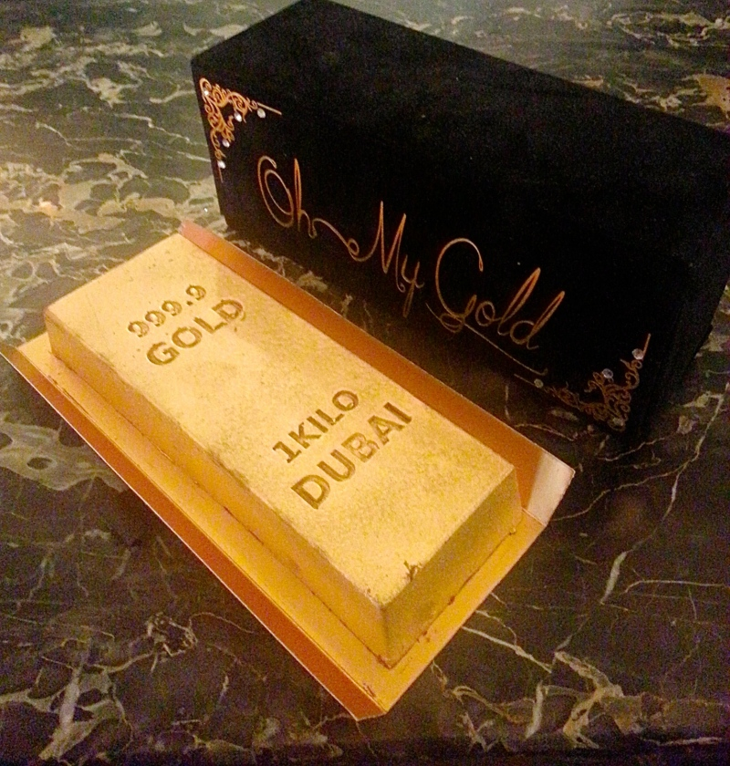 Oh My Gold Cake