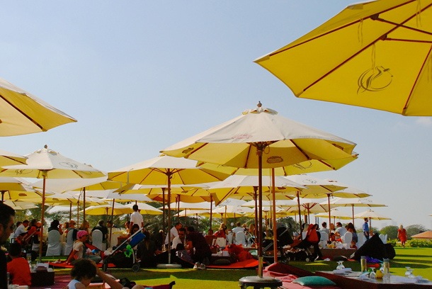 The Picnic Brunch at Blades in Al Badia Golf Club