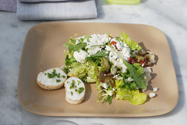 The Goat Cheese Salad
