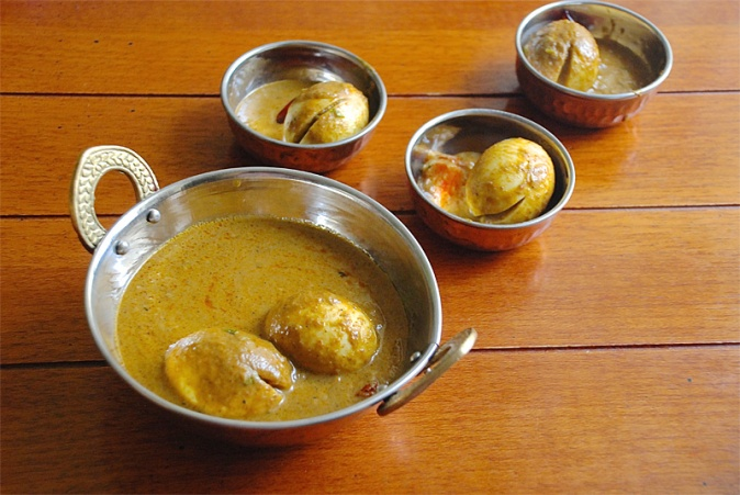 Egg curry from Appa Kadai