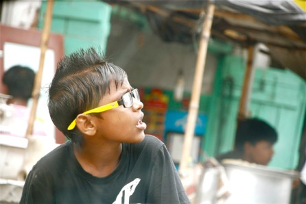 The cool dude on the streets of Kolkata