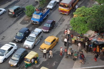 Traffic jam, Kolkata