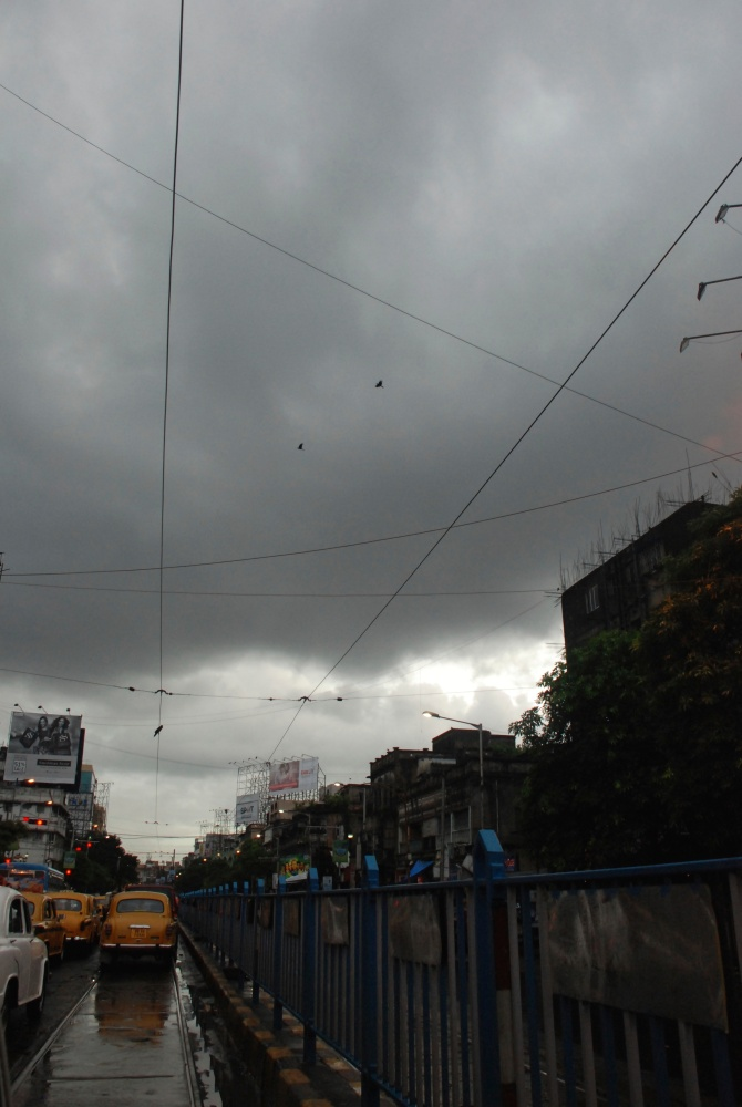 Kolkata drenched in rains