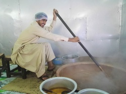 Omani Halwa in the making