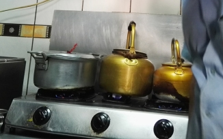 Vessels of mass destruction - the brass kettles for making Masala Chai