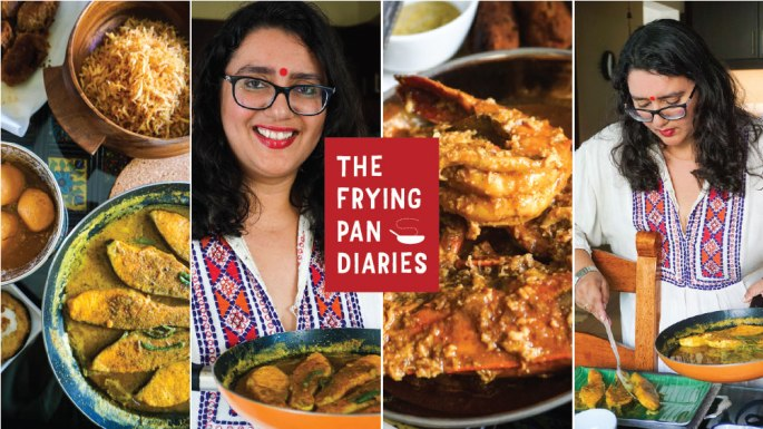 The Frying Pan Diaries Podcast on Bengali Food with Ishita B Saha